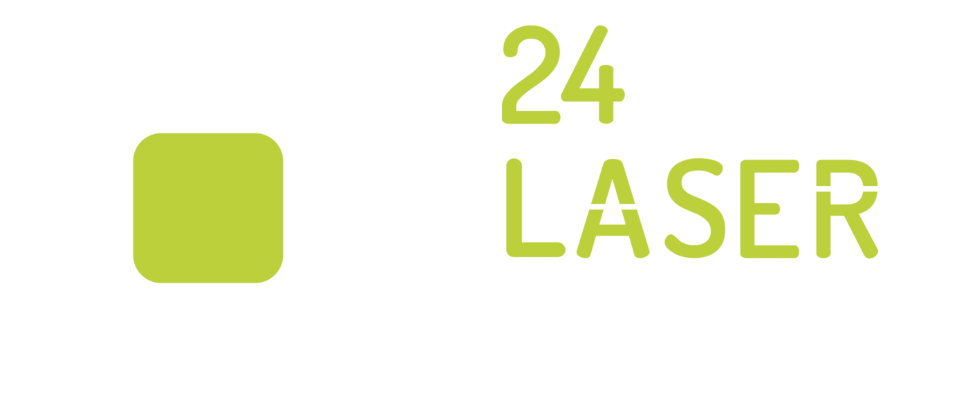 lasersnijden logo wit