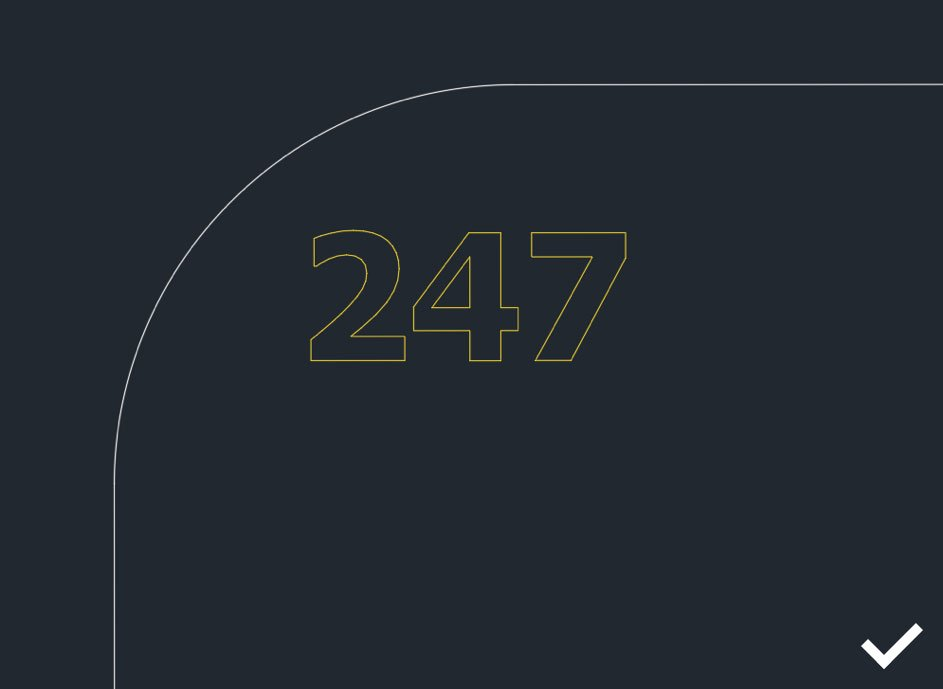 lasersnijden werktekening 247